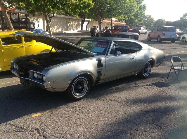 Oldsmobile 442 Coupe 1968 Sea Miss Green For Sale