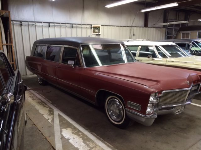 cadillac other hearse ambulance 1968 for sale  1968
