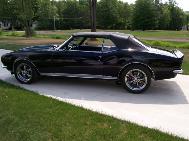 Youngstown Chevrolet >> Chevrolet Camaro Convertible 1968 Black For Sale. 124678N376233 1968 CAMARO RS/SS CONVERTIBLE ...