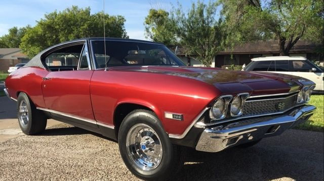 Chevrolet Chevelle Coupe 1968 Red For Sale  138378B203910