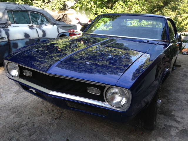 chevrolet camaro coupe 1968 blue for sale 124378n406222 1968 chevrolet camaro project car new. Black Bedroom Furniture Sets. Home Design Ideas