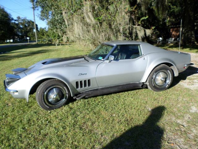 Chevrolet Corvette T Top 1968 Silver For Sale 1968