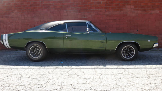 Cold Lake Dodge >> Dodge Charger Coupe 1968 Green For Sale. XS29L8B403693 1968 Dodge Charger R/T Original CA Car ...
