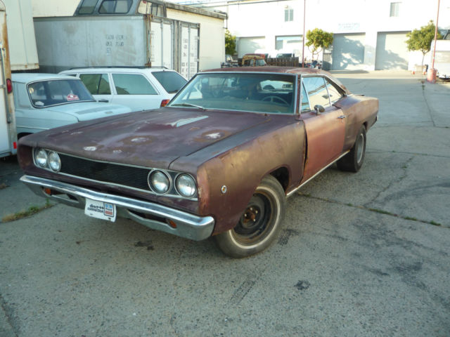 dodge coronet 2 door ht 1968 red for sale ws26l8g269061 1968 dodge coronet r t rt project no. Black Bedroom Furniture Sets. Home Design Ideas
