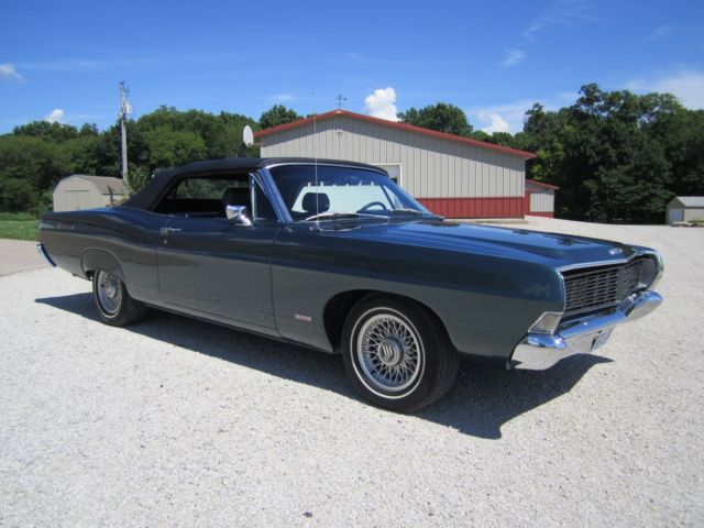 ford galaxie convertible 1968 teal for sale 8u61z162117. Cars Review. Best American Auto & Cars Review