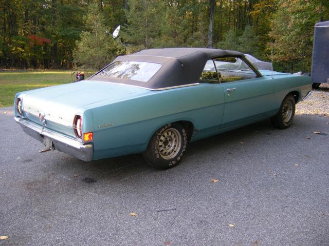 ford torino u k 1968 blue for sale 1968 ford torino gt convertible true garage find all. Black Bedroom Furniture Sets. Home Design Ideas