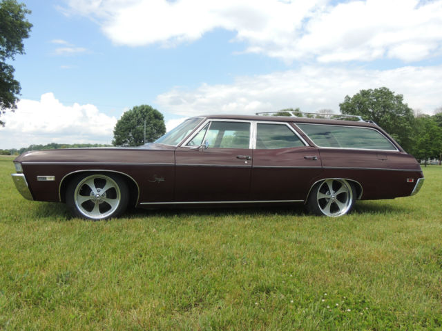 Used Tires Dayton Ohio >> Chevrolet Impala Wagon 1968 CORDOVAN MAROON For Sale ...