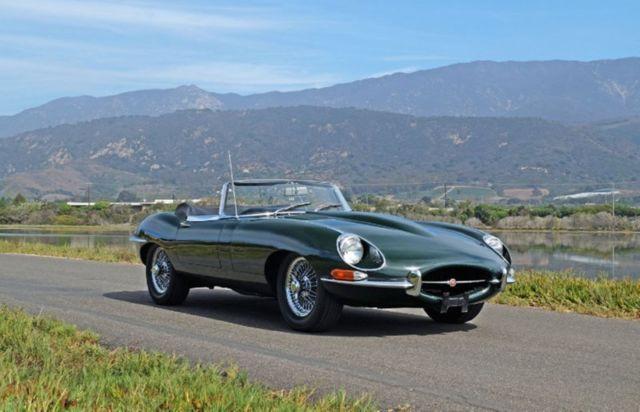 Jaguar E Type Convertible 1968 Green For Sale 1e16545