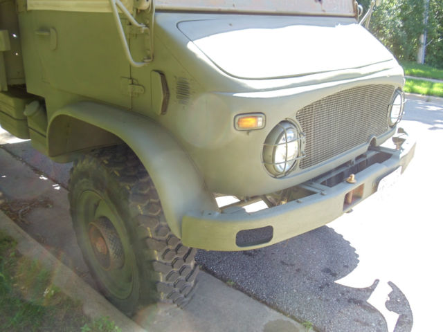Mercedes benz other utility 1968 od green for sale for Mercedes benz portal axles