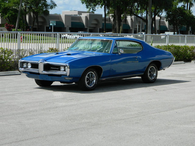 Pontiac Tempest COUPE 1968 BLUE For Sale 237378P158146 1968