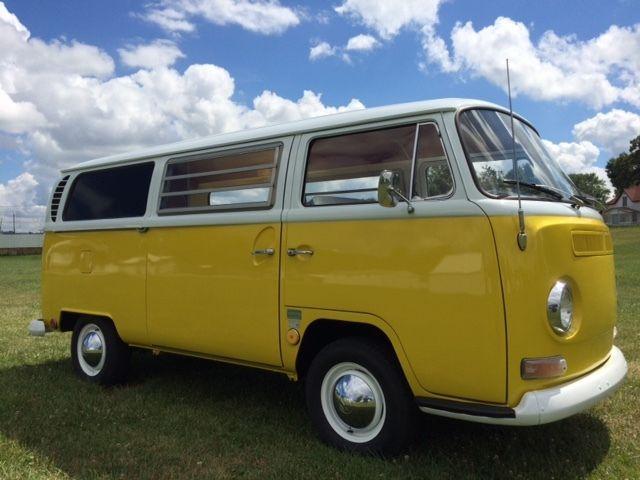 Volkswagen Bus/Vanagon 1968 Yellow/ White For Sale ...