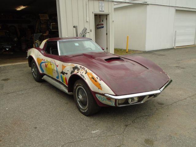Barn Find Muscle Car For Sale 1969 Chevrolet Corvette