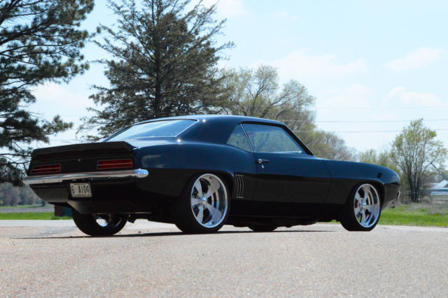 Chevrolet Camaro Coupe 1969 Black For Sale 124379n672701