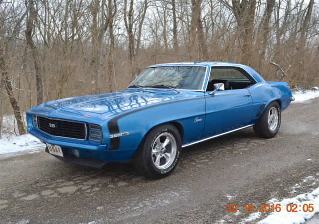 chevrolet camaro coupe 1969 leamans blue for sale 124379 1969 camaro rs ss 350 4spd solid utah. Black Bedroom Furniture Sets. Home Design Ideas