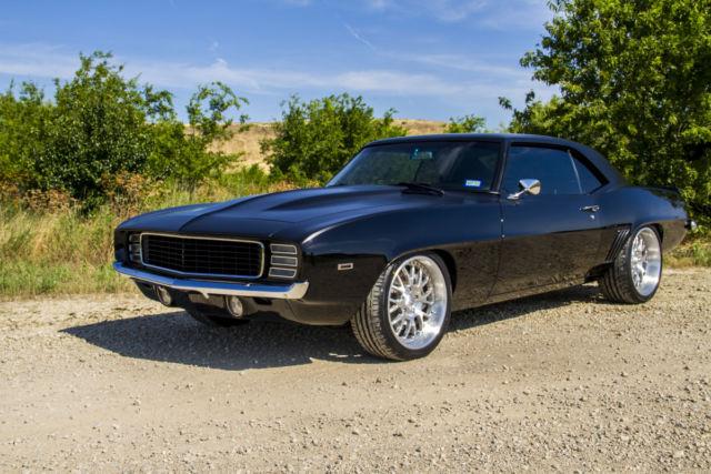Classic Chevrolet Grapevine >> Chevrolet Camaro 1969 MATTE BLACK/ GLOSS BLACK TWO-TONE For Sale. 1234 1969 CAMARO RS/SS ...