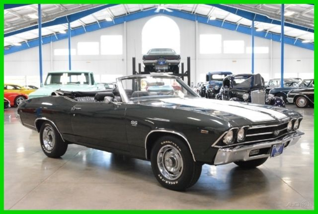 Chevrolet Chevelle Convertible 1969 Other Color For Sale 136679B387170 SS 396ci V8 350hp 4 Speed Real Number Matching Correct