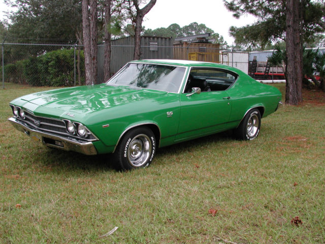 Chevrolet Chevelle 1969 Green For Sale  136379k474782 1969