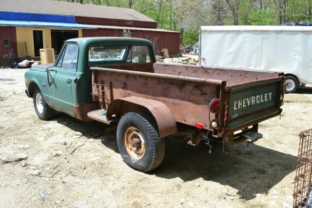Edmonton Area Chevrolet Pickup Trucks For Sale Buy Used: Chevrolet Other Pickups Pickup Dump Body 1969 Green For