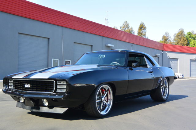 Chevrolet Camaro Coupe 1969 Black For Sale 123379l508180 1969 Chevy Camaro Custom Pro Touring