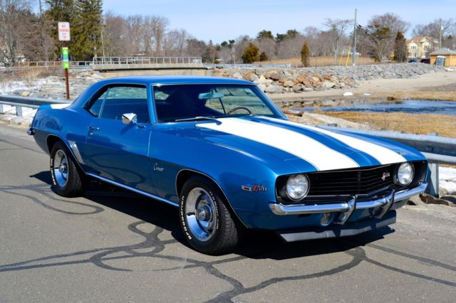 Chevrolet Camaro Coupe 1969 Blue For Sale  124379N577643
