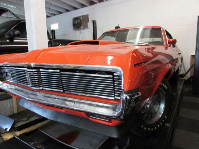 Mercury Cougar Coupe 1969 Orange For Sale 1969 Cougar