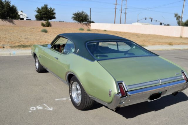 Oldsmobile Cutlass Coupe 1969 Meadow Green For Sale