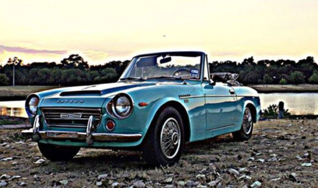 Datsun Other Convertible 1969 Teal For Srl311 10833 Fairlady Roadster 2000