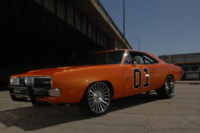 Dodge Charger Coupe 1969 Orange For Sale Xs29l9b439179
