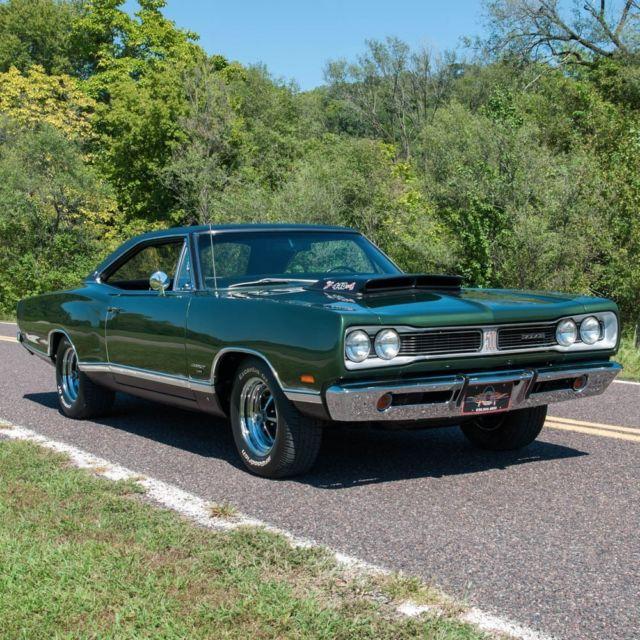 Dodge Coronet Coupe 1969 Dark Green For Sale