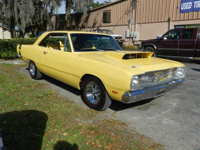 Dodge Dart Sedan 1969 Yellow For Sale Wdbsk75f04f069443