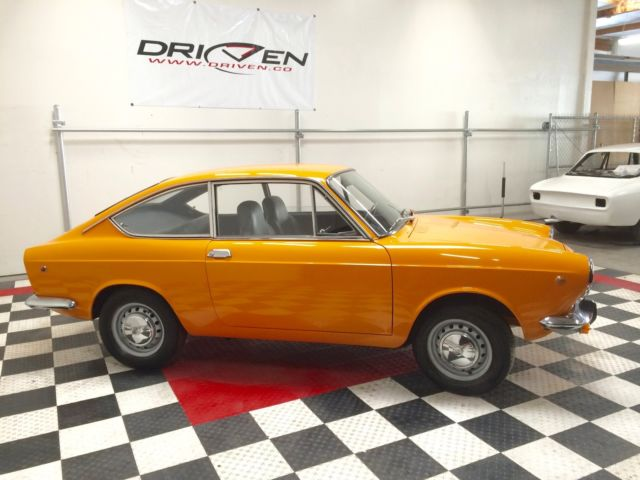 Fiat other fastback 1969 sunburst orange for sale 1969 fiat 850 sport coupe fully restored - Fiat 850 sport coupe for sale ...