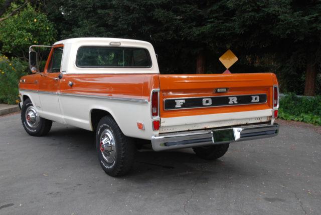 ford f cordova for sale  f25hrf11509 1969 ford f250 camper