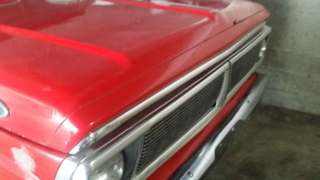 Ford F-250 1969 Red For Sale  F25YRD12291 1969 ford f250