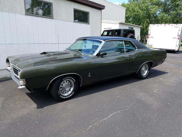 Ford Fairlane Coupe 1969 Green For Sale. 9h45r169786 1969 ...