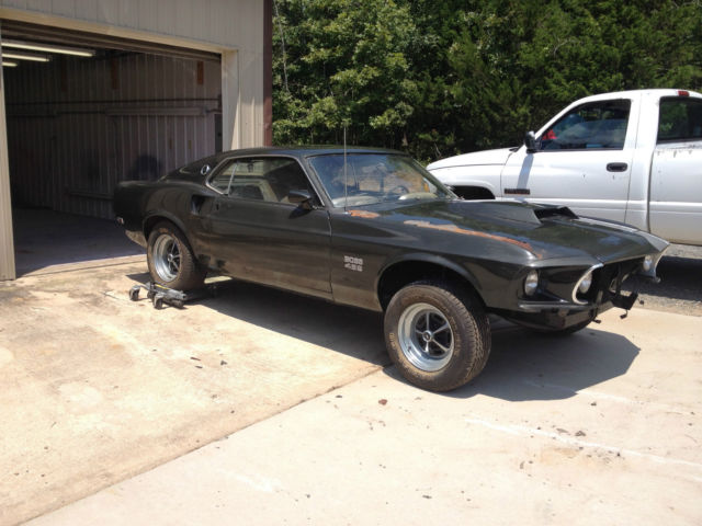 ford mustang 1969 orange for sale 0f02zxxxxxx 1969 ford mustang boss 429 black jade first 100. Black Bedroom Furniture Sets. Home Design Ideas