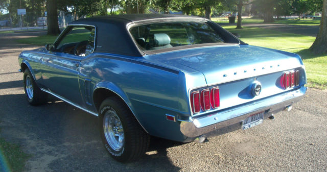 Ford Mustang Coupe 1969 Winter Blue For Sale. 9F01F207739 ...1969 Mustang Coupe Blue