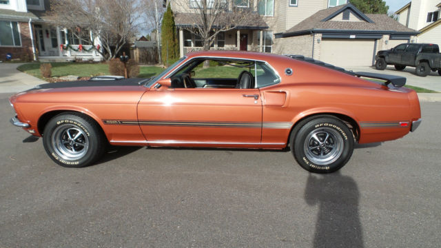 Ford Mustang Fastback 1969 Indian Fire Red For Sale. 1969 ...
