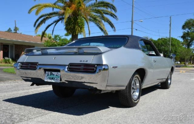 Pontiac GTO Coupe 1969 Silver For Sale  242379Z109891 1969