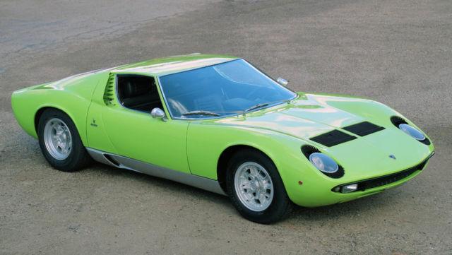 Lamborghini Miura P400s Other 1969 Green For Sale 1969 Lamborghini