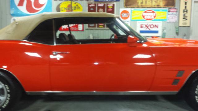 Pontiac Firebird Convertible 1969 Orange For Sale  223679U108662