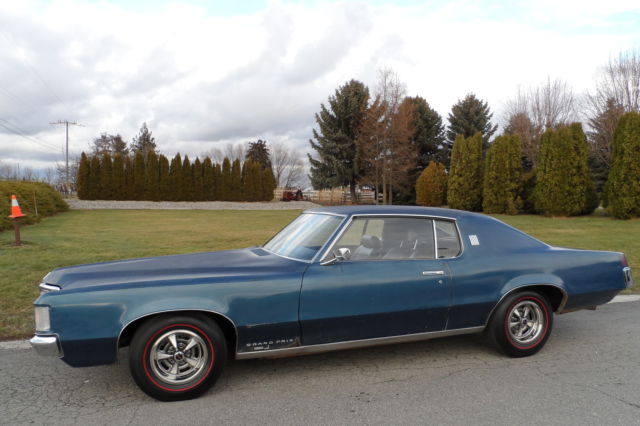 1969 Pontiac Grand Prix For Sale >> Pontiac Grand Prix Coupe 1969 Blue For Sale. 276579P147376 1969 PONTIAC GRAND PRIX 428 FACTORY 3 ...