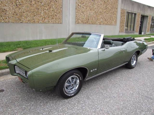 1969 Pontiac Gto Convertible Free Shipping Lower 48