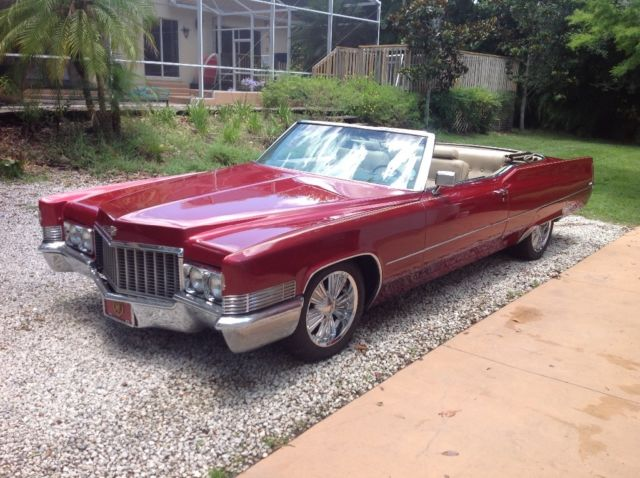 cadillac deville 1970 for sale f0206629 1970 cadillac convertible deville clean driver with. Black Bedroom Furniture Sets. Home Design Ideas