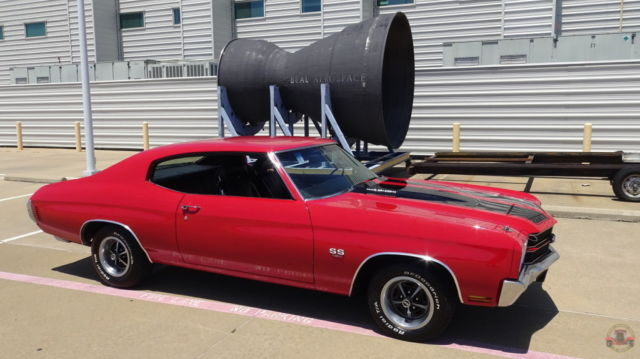 Chevrolet Chevelle Hardtop 1970 Cranberry Red For Sale