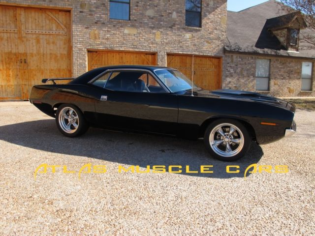 Plymouth Barracuda Coupe 1970 Black For Sale  BH23L0B128929 1970