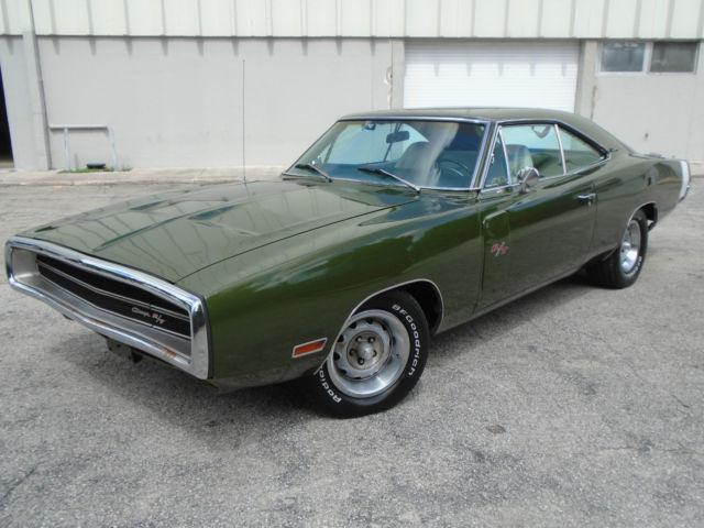 Dodge Charger Hardtop 1970 Metallic Dark Green For Sale 1970 Dodge