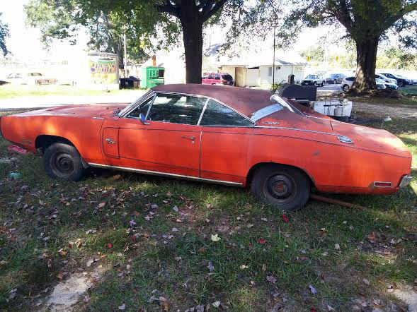 1970 Dodge Charger Rt Project Car Overall Solid Car For Sale: Dodge Charger Coupe 1970 Orange For Sale. [xfgiven_vin