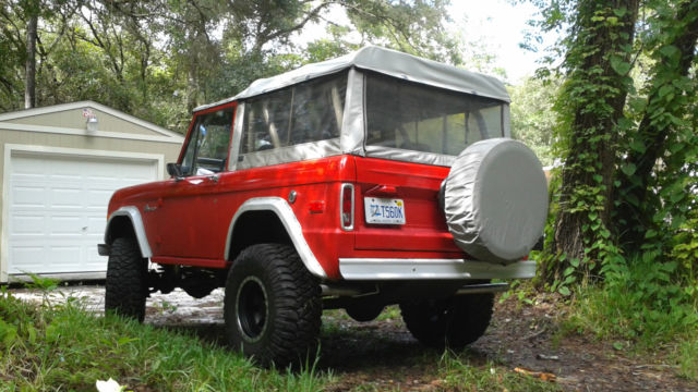 Ford Bronco Convertible 1970 Red For Sale. 1970 Ford ...