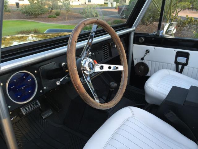 Ford Bronco SUV 1970 Glossy Black For Sale U15GLG55754