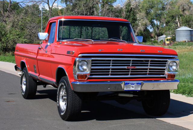 Ford F-100 Standard Cab Pickup 1970 Red For Sale. 1970 ...